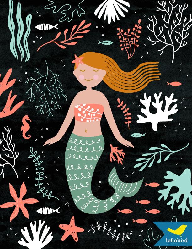 Mermaid by Lellobird