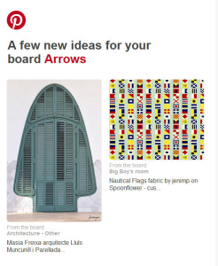 Pinterest suggestions