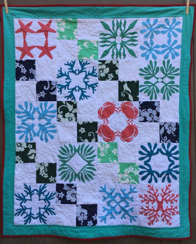 Quilt by Judy Tucker - Sleeping Dog Quilts