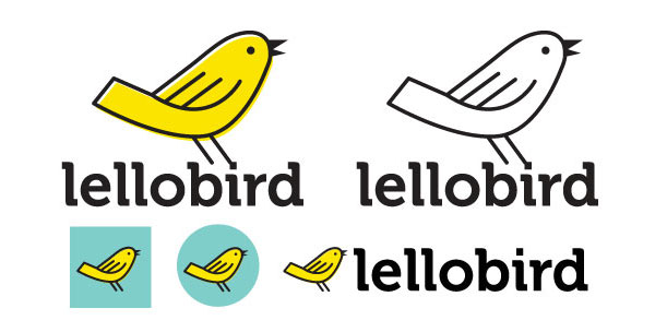 The new Lellobird logo - tada!