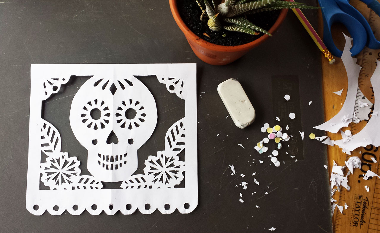 Papel picado design by Lellobird