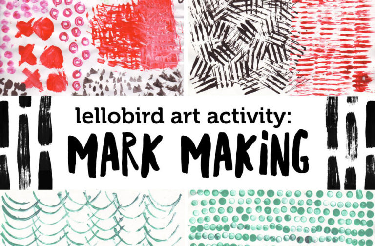 Mark Making with Lellobird